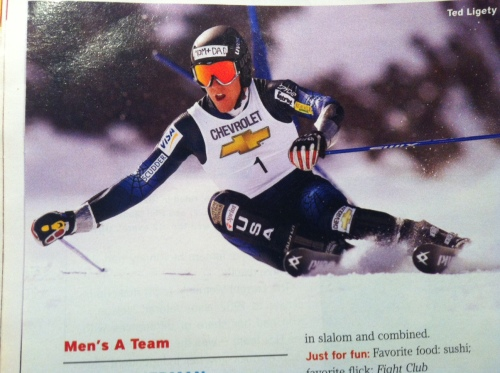 Ted Ligety Mom & Dad